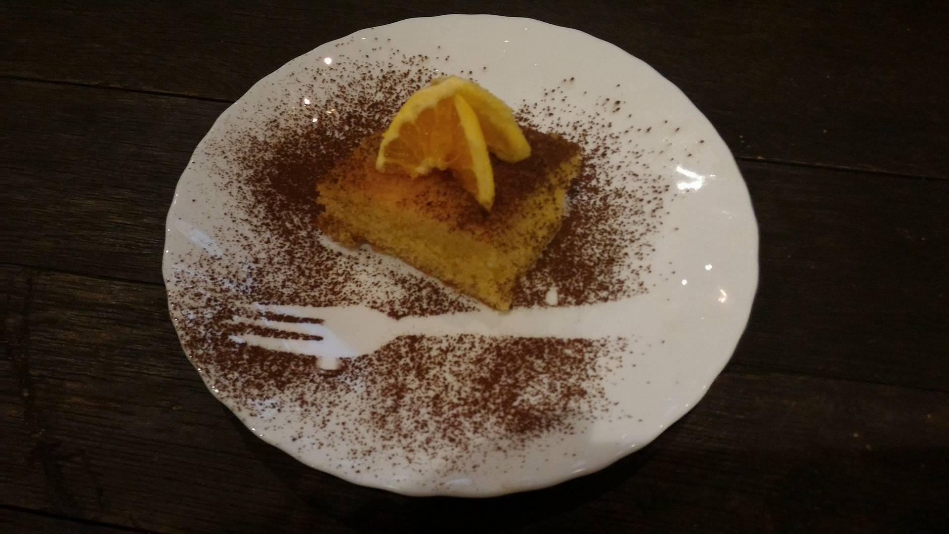 torta all'arancio
